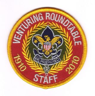 Cub Boy Scout Eagle 2010 Venturing Roundtable Staff Patch MINT OA NOAC