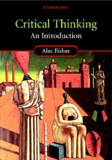 Thinking An Introduction by Alec Fisher 2001, Paperback
