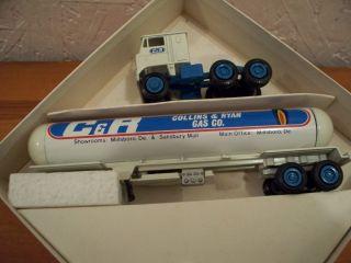Gas Tractor Trailer Diecast Winross Semi Millsboro Delaware