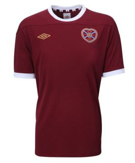 Hearts Football Shirt Heart of Midlothian Jersey Retro New Mens 2012