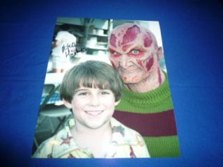 Miko Hughes Signed Autograph InPerson Freddy Krueger