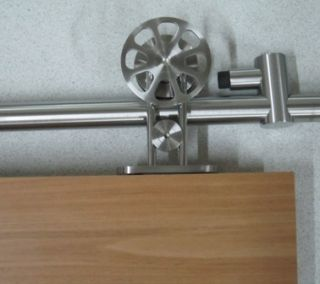 Milano Series Sliding Barn Door Hardware for Wood Doors