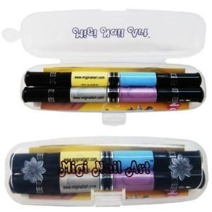 Migi Nail Pastel Nail Art Pen Kit New 2 Pack 4 Colors