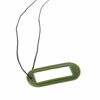 12 DOG TAG NECKLACES Kids Army Military Party Goody Loot Bag Filler