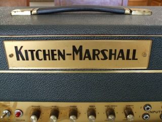 45 VERY RARE KITCHEN PLEXI GREEN SMALL BOX MICHAEL DOYLE BOOK BLUES