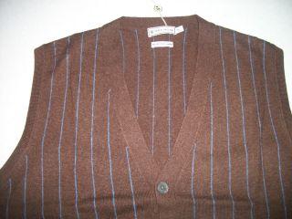 Peter Millar Cashmere Sweater Vest Size M Orig $335 00