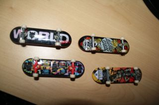 Tech Deck Mini Skateboards 4 Individual Boards