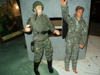 INCH, 1 6 SCALE ACTION FIGURE, TOY SOLDIER LOT, MILITARY ACTION FIGURE