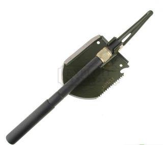 Military Camp Survival Folding Shovel Multi Use Exploit Y206