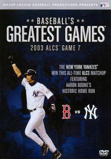 MLB Baseballs Greatest Games   2003 ALCS Game 7 DVD, 2011