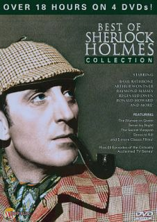 The Classic Sherlock Holmes Collection DVD, 2009, 4 Disc Set