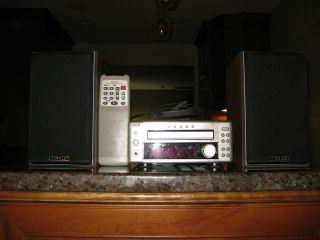 Denon UD M3 Stereo Mini Compact System CD Radio Text with Mission