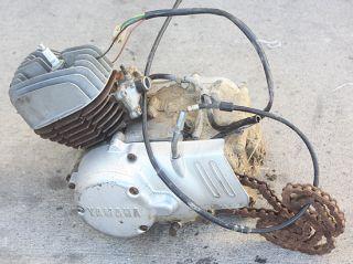 82 83 Yamaha DT80 Mini Monkey Bike Engine Motor Cylinder Jug Parts