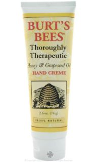 Burts Bees Thoroughly Therapeutic Honey Grapeseed Oil Hand Creme