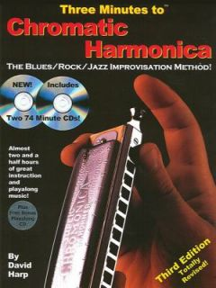 Chromatic Harmonica The Blues Rock Jazz Improvisation Method by David