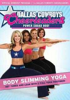 Dallas Cowboys Cheerleaders Power Squad Bod   Body Slimming Yoga DVD