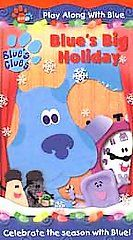 Blues Clues   Blues Big Holiday VHS, 2001