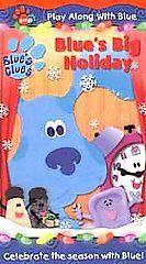 Blues Clues   Blues Big Holiday VHS, 2001