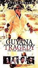 Guyana Tragedy   The Story of Jim Jones VHS, 1999, 2 Tape Set