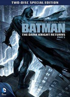 Batman The Dark Knight Returns, Part 1 DVD, 2012, 2 Disc Set, Special