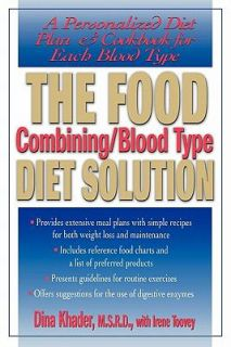 The Food Combining Blood Type Diet Solution A Personalized Diet Plan