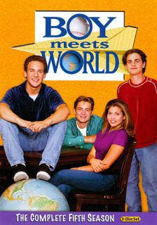 Boy Meets World The Complete Fifth Season DVD, 2011, 3 Disc Set