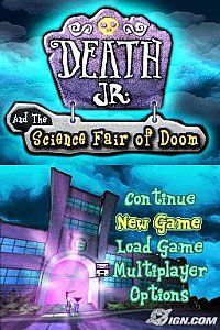 Death Jr. and the Science Fair of Doom Nintendo DS, 2007