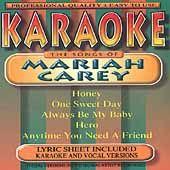 Mariah Carey by Karaoke CD, Nov 1999, Brentwood Communications