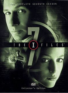 The X Files   The Complete Seventh Season DVD, 2003, 6 Disc Set