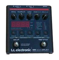 TC Electronic ND 1 Nova Delay Guitar Effect Pedal