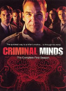 Criminal Minds   The Complete First Season DVD, 2006, 6 Disc Set