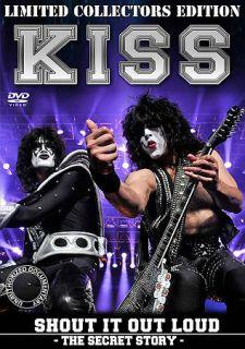 KISS Shout It Out Loud The Secret Story DVD, 2012