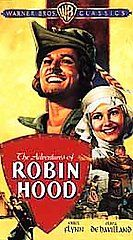 The Adventures of Robin Hood VHS, 2001