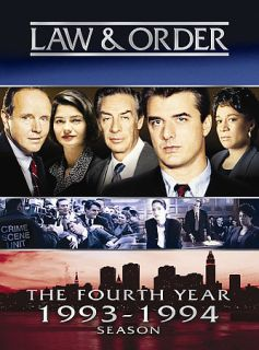 Law Order   The Fourth Year DVD, 2005, 3 Disc Set
