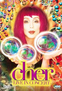 Cher   Live In Concert DVD, 1999