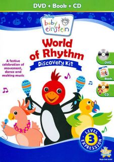 Disney Baby Einstein World of Rhythm Discovery DVD, 2011, 2 Disc Set
