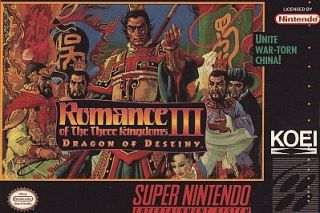 Romance of the Three Kingdoms III Drago