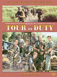 Tour of Duty   The Complete Third Season DVD, 2005, 5 Disc Set