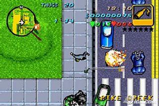 Grand Theft Auto Nintendo Game Boy Advance, 2004