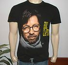 mens *1992 ERIC CLAPTON* vtg rock concert tour t shirt (L) 80s band