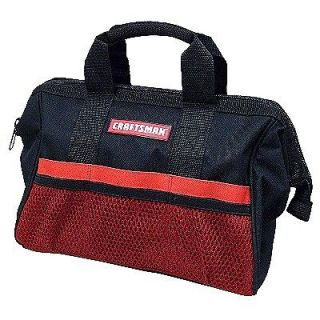 Craftsman 18 inch Tool Bag   Wide Open Design   Reinforced Material