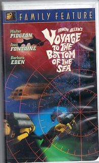 20th Century Fox Family Voyage to the Bottom of the Sea (VHS, 1997