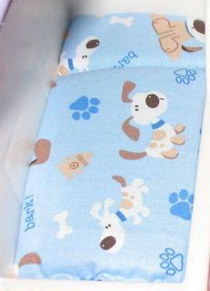 DOLLHOUSE BED MATTRESS for LITTLE TIKES BLUE WITH DOGS & PUPPIES