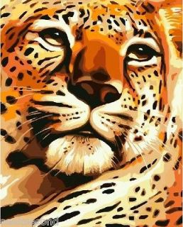 Acrylic Painting by Number Set 50x40cm (20x16) Power Tiger DIY Paint