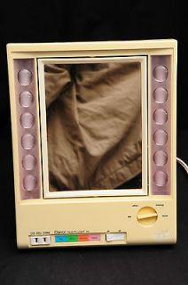 True to Light VII Makeup Mirror Vintage LM 7 Adjustable Light Outlet