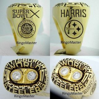 Newly listed 1975 Pittsburgh Steelers Super Bowl Championship Ring