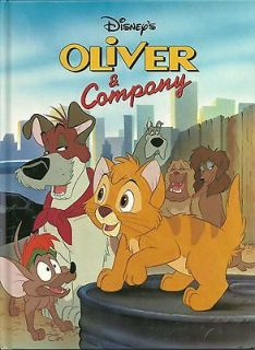 Oliver And Company Disney Classic Series Hardcover Book