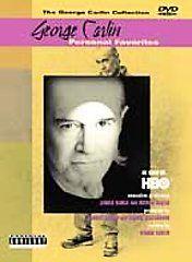 George Carlin   Personal Favorites (DVD, 2001, Parental Advisory)