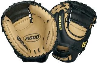 RHT A600 Leather Game Ready 32.5 Baseball CATCHERS Mitt GLOVE DCPM