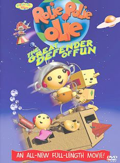 Rolie Polie Olie Great Defender of Fun (DVD, 2002) Disney Playhouse